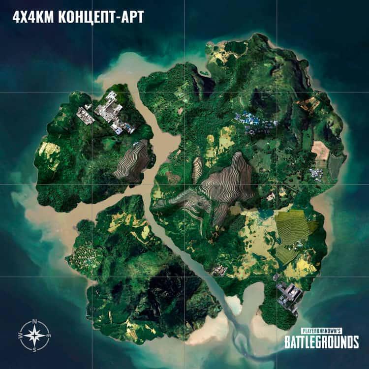 Новая маленькая карта