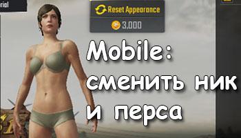 Ник в mobile