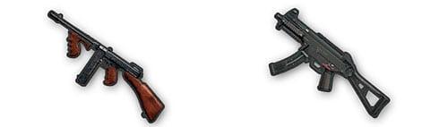 Пистолеты пулеметы